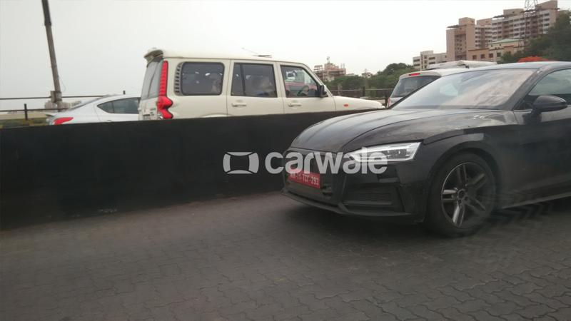 Audi continues to test the A5 Sportback in India