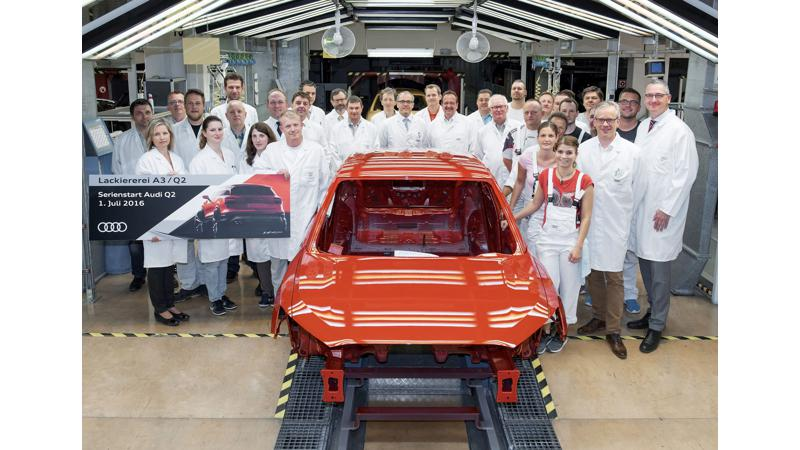 Audi Q2's production commences in Germany