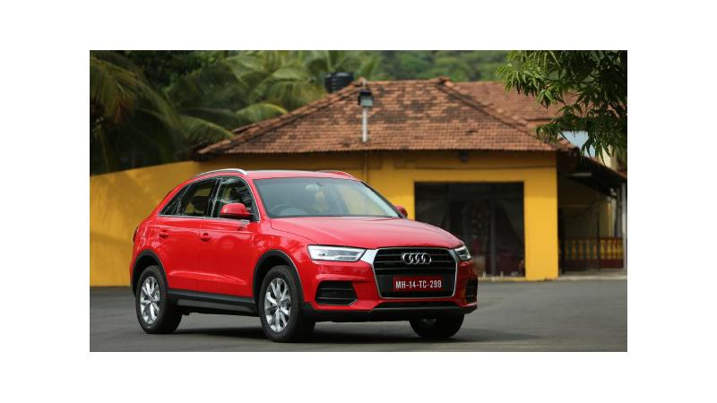 Audi India might introduce the Q3 with a petrol mill