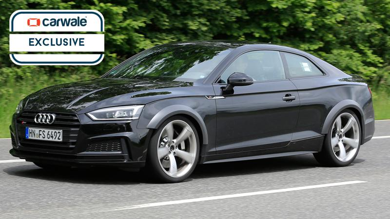 Next generation Audi RS5 spotted testing