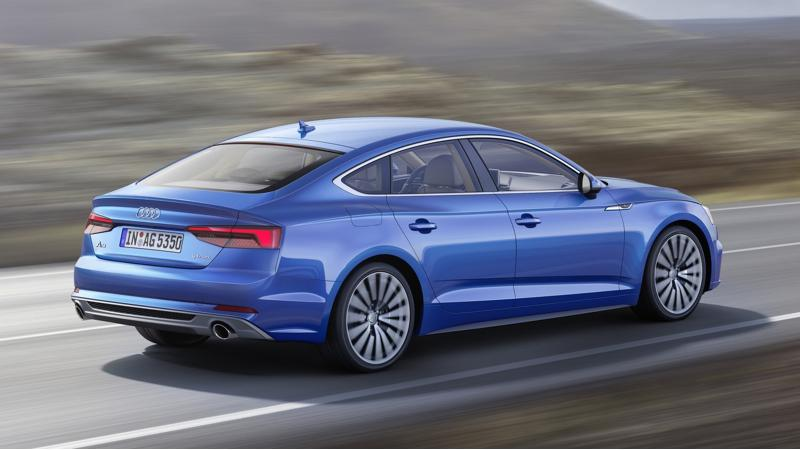 Audi debuts new Audi A5 Sportback ahead of the Paris Motor Show