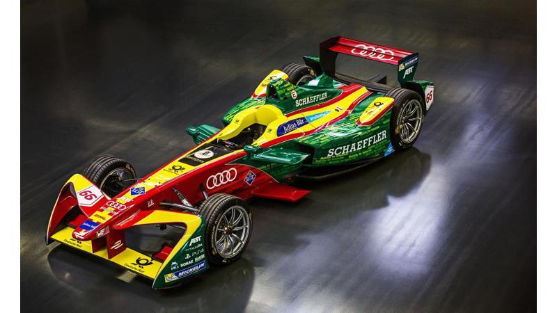 Audi extends its partnership with Team ABT Schaefflerin in Formula E racing