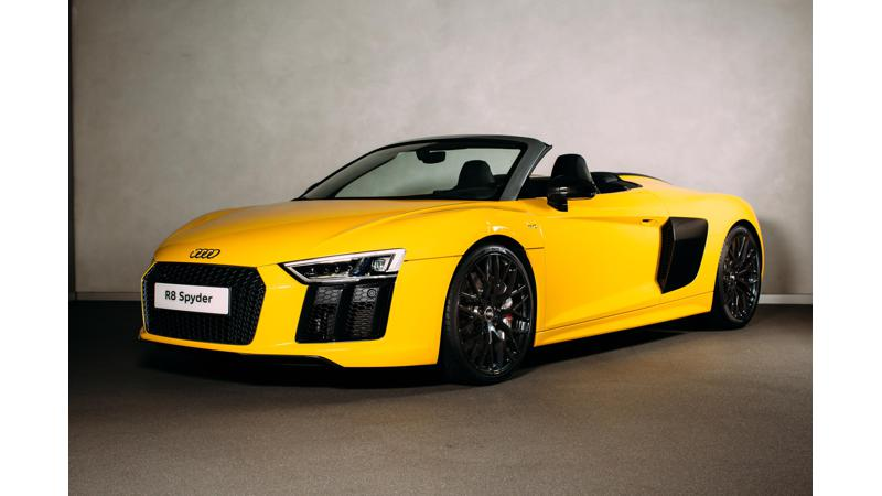 Audi introduces R8 Spyder in the UK