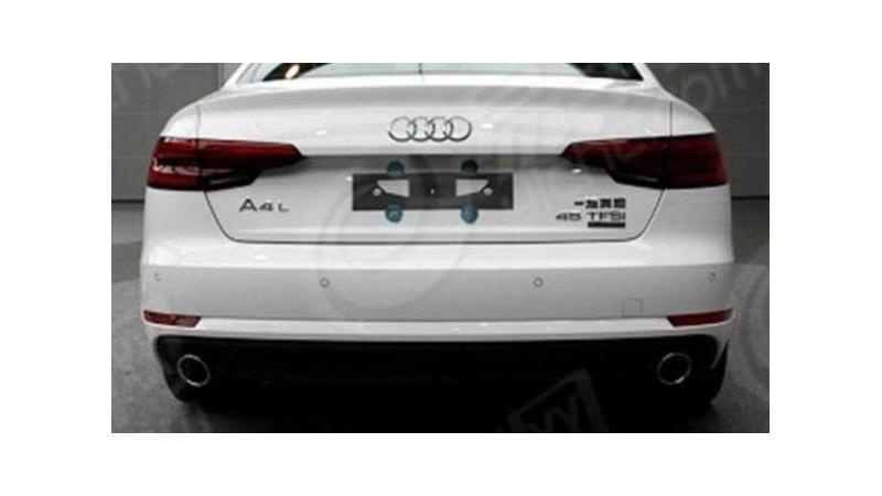Audi to reveal A4L for China this month
