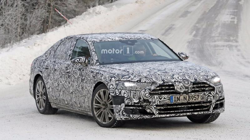 Next generation Audi A8 to be showcased in Barcelona tomorrow