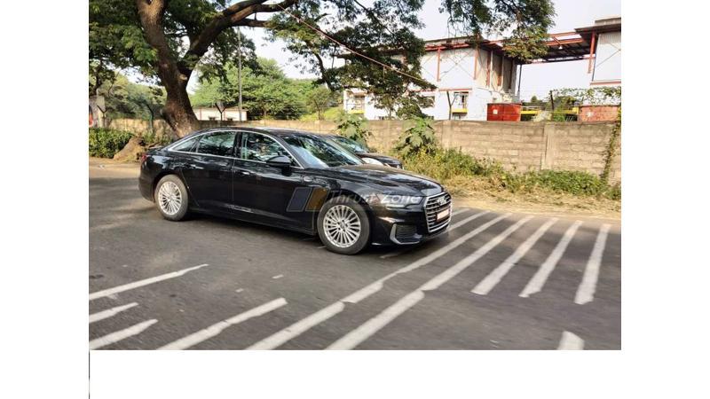 Audi testing 2019 A6 in India