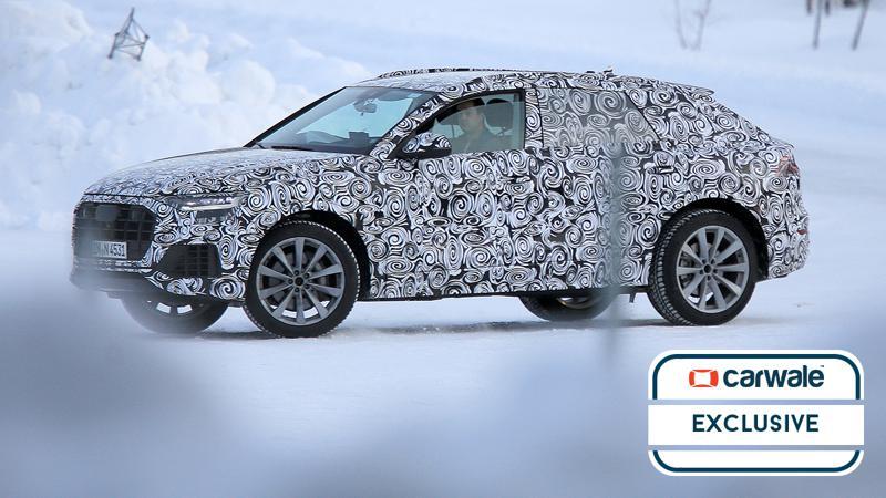 Audi Q8 spotted testing