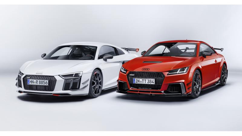 Audi reveals Sport Performance Parts for the R8 and TT