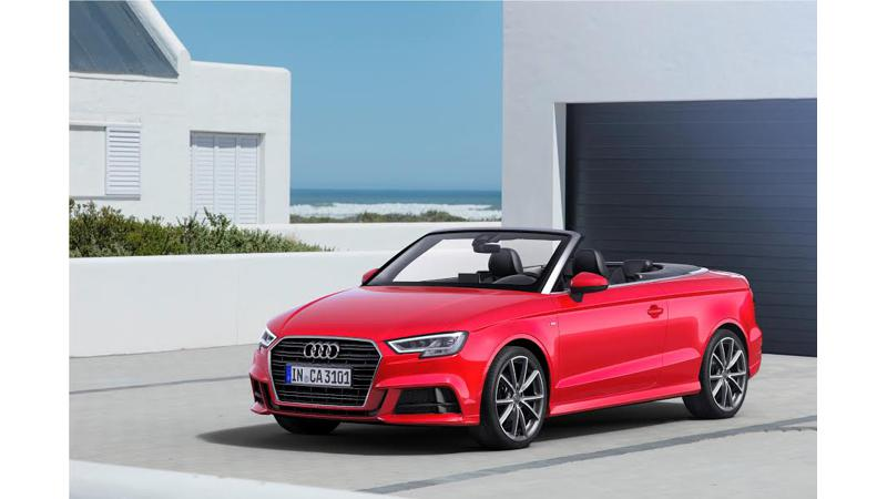 Audi launches A3 Cabriolet at Rs 47.98 lakh