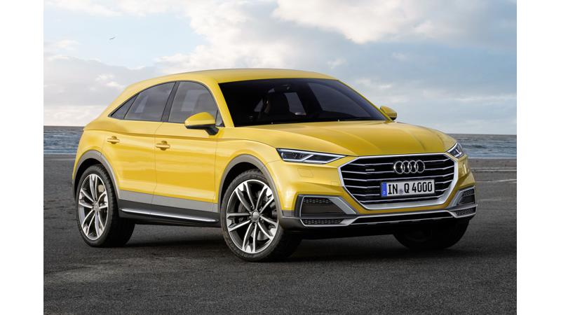 2019 Audi Q4 rendered digitally