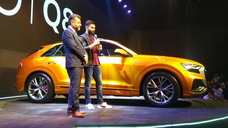 Audi Q8 introduced in India at Rs 1.33 crore