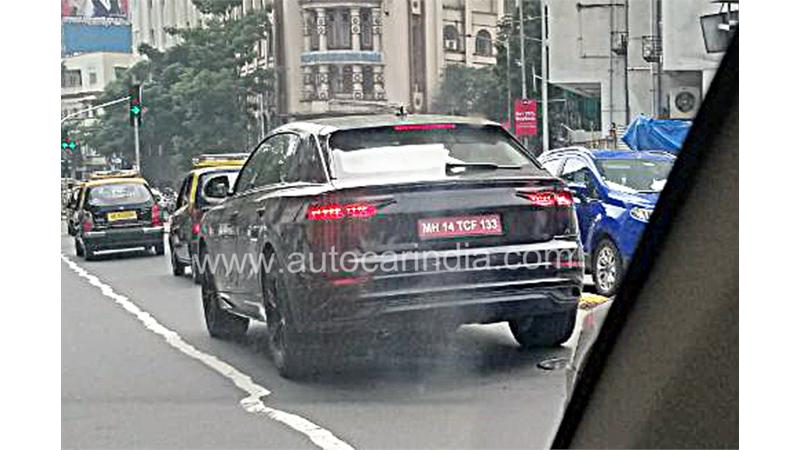 Audi Q8 test mule images surface
