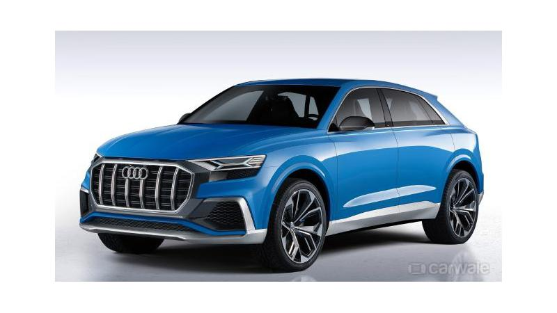 Audi Q8 to be showcased at Shanghai Motor Show