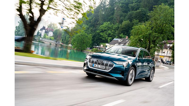 Audi e-tron emerges strong as the global market leader in its segment