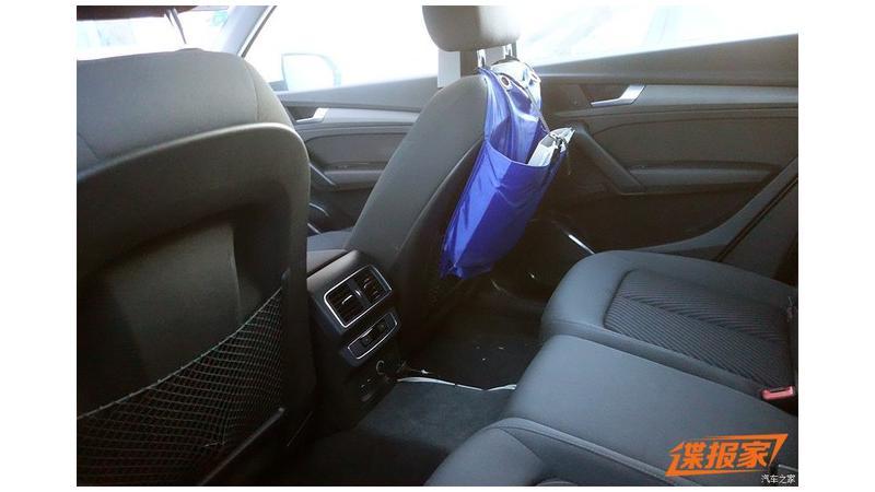 2019 Audi Q5L interiors spied