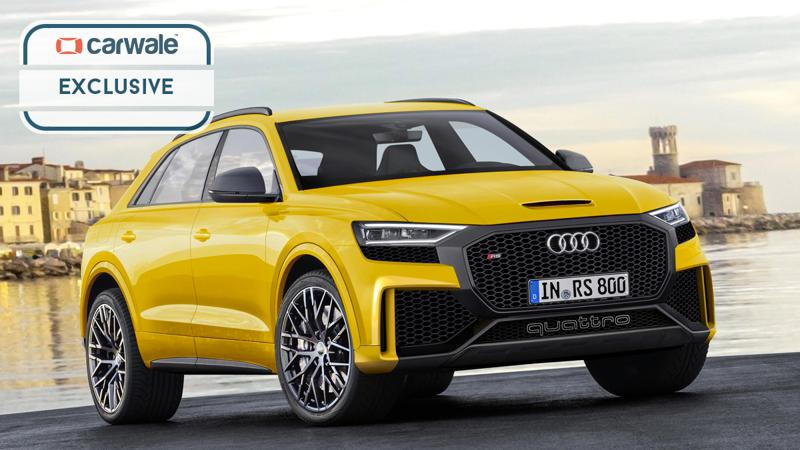 Audi patents the new RS Q8 badging
