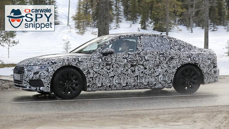 2019 Audi A6 test vehicle spotted