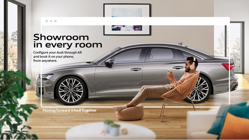 Audi launches online sales and service