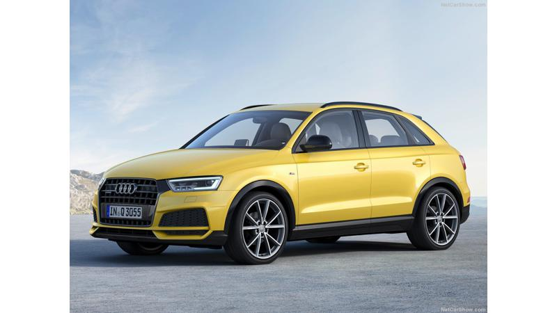 Audi Q3 Black Edition unveiled in the UK