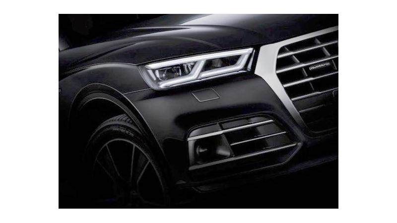 2017 Audi Q5's new teasers out ahead of Paris Motor Show debut