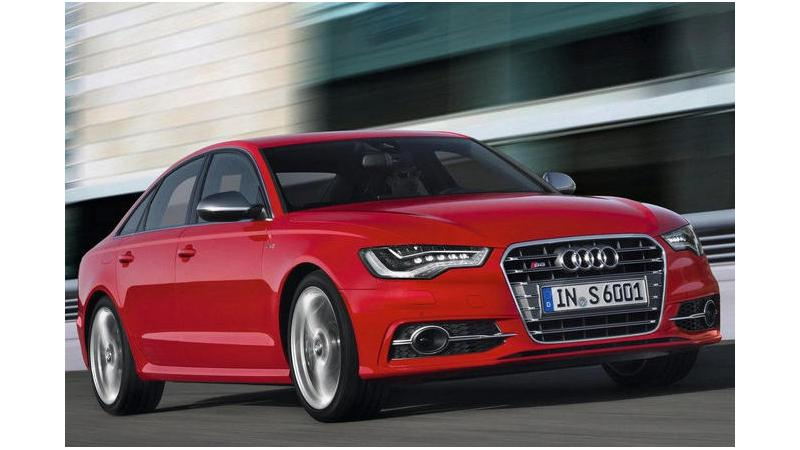 Audi S6 to be launched in July 2013 in India