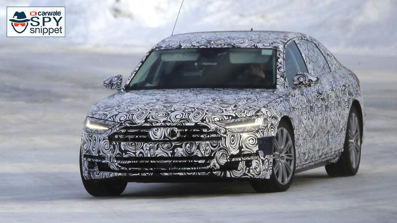 Audi begins testing its next generation S8