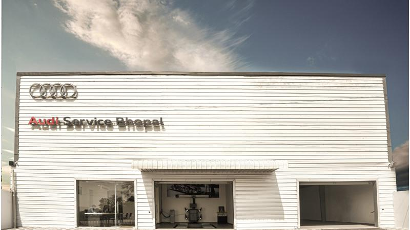 Audi India opens a new service centre in Bhopal