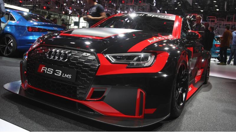 Audi Sport unveils its RS3 LMS race car with 330bhp