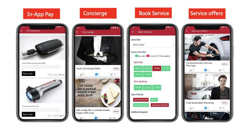 Audi introduces updated 'myAudi Connect' App