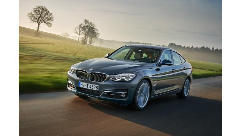 BMW 3 Series GT facelift unveiled