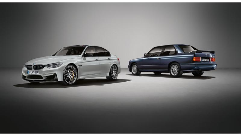 BMW UK launches M3 30 Jahre limited edition