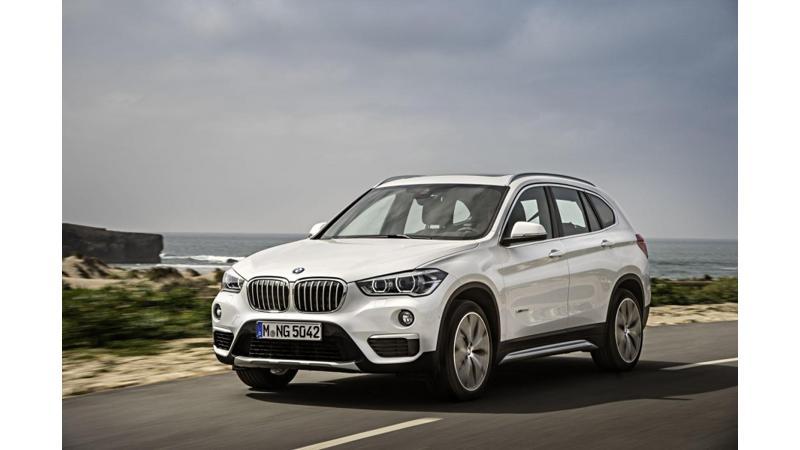 BMW X2 global unveiling at 2016 Paris Motor Show