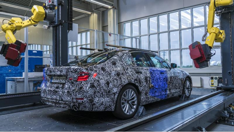 BMW ramps up to produce the new 5 Series at its Dingolfing plant