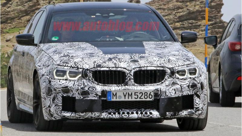 BMW's upcoming M5 caught testing in Spain