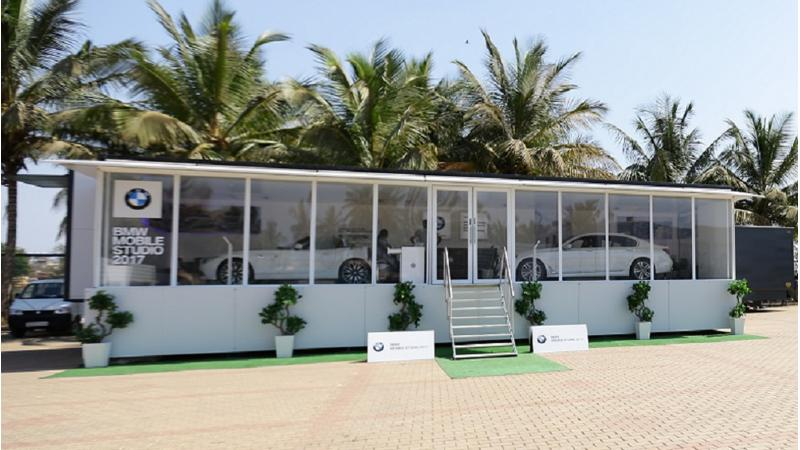BMW 'Mobile Studio' aims to reach out to buyers in Vishakhapatnam