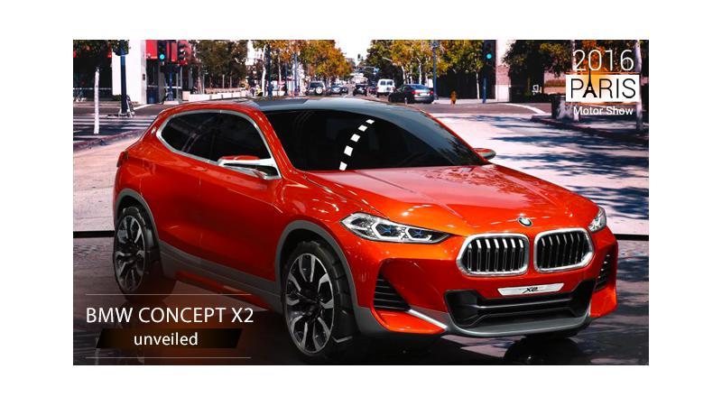 2016 Paris Motor Show: BMW reveals Concept X2