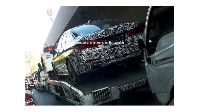 2017 BMW 5 Series spotted in India