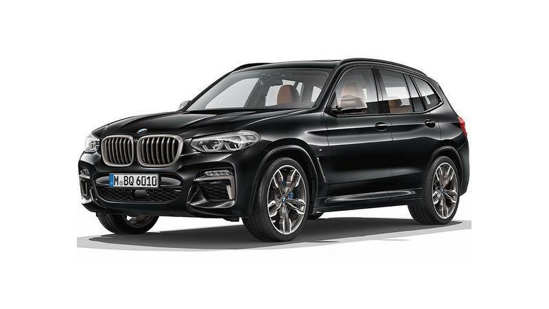 Next generation BMW X3 leaked