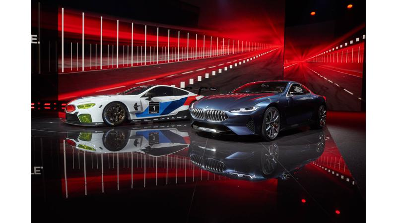 Frankfurt Motor Show 2017: BMW reveals the M8 GTE race car