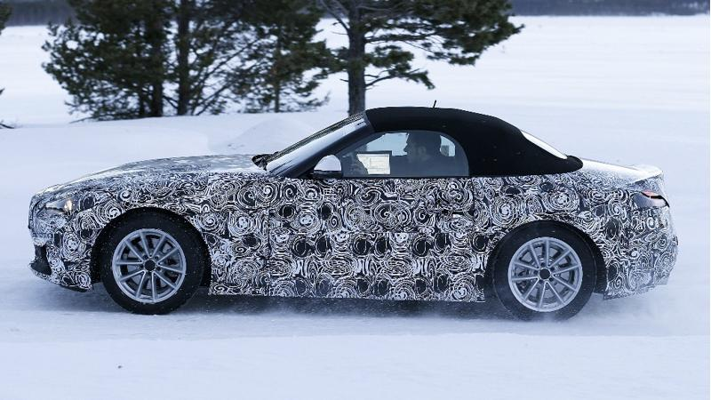 BMW begins cold weather testing on the Z5
