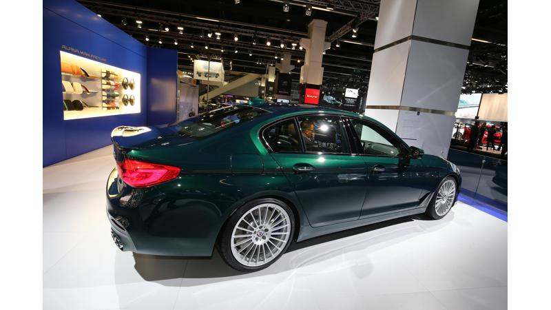 Frankfurt Auto Show 2017: Alpina D5 is a diesel BMW 5 Series with 388bhp!