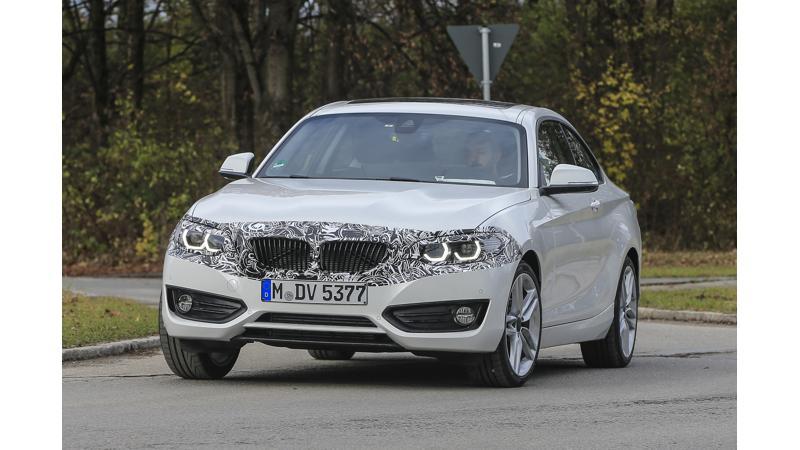 2018 BMW 2 Series caught testing