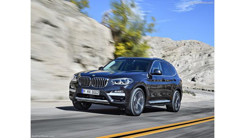 BMW unveils third-generation X3 SUV
