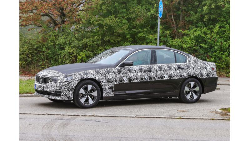 All-new BMW 5 Series spied