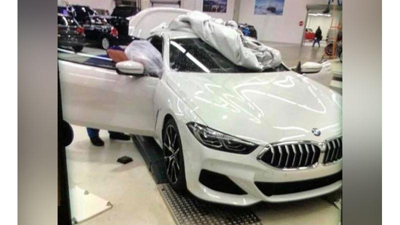 Production-spec 2018 BMW 8 Series Coupe spotted