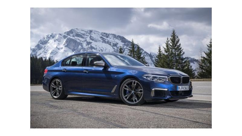 BMW M550i xDrive revealed in pictures