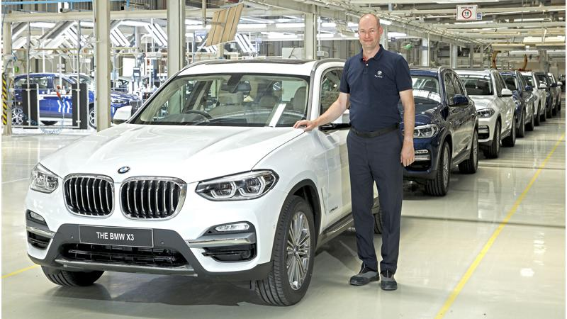 BMW starts production of the new X3 in India