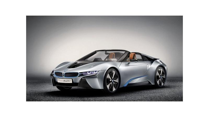 BMW to introduce the i8 roadster in 2018