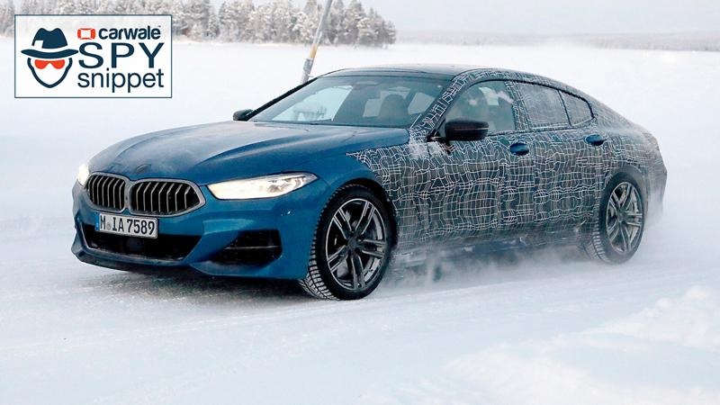 BMW spotted testing 8 Series Gran Coupe