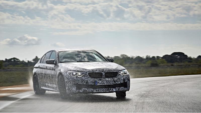 BMW announces xDrive for next-gen M5